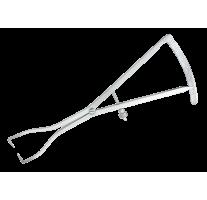 Compas castroviejo avec fenêtre 18cm 0-40mm