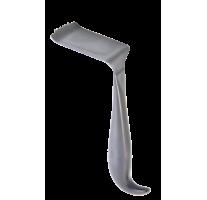 Rétracteur de tête iliac pour écarter le tissu mou 36 x 50mm, 18cm