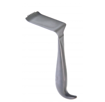 Rétracteur de tête iliac pour écarter le tissu mou 59 x 50mm, 18cm