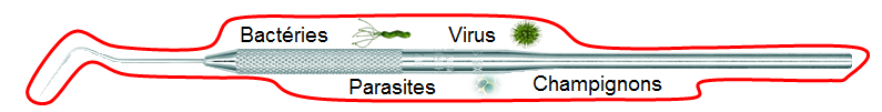 Infection biofilm FR